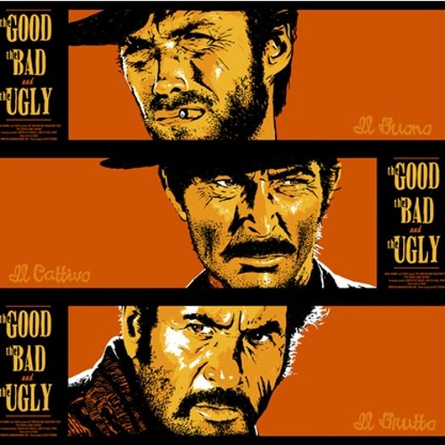 Movie poster of The Good, the Bad and the Ugly